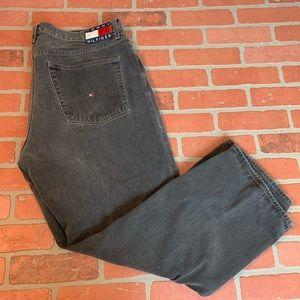Tommy Hilfiger Vintage Grey Denim Jeans 42 x 30